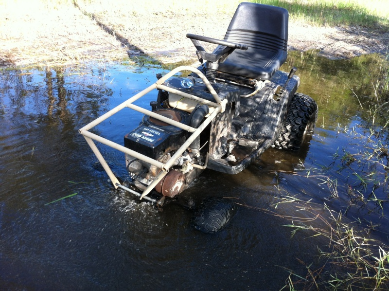 Mtd Mud Mower : What have you done to your tractor today page